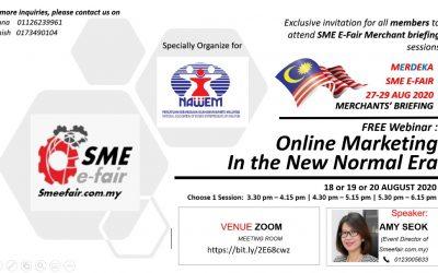SME E-Fair in MALAYSIA and FREE webinar